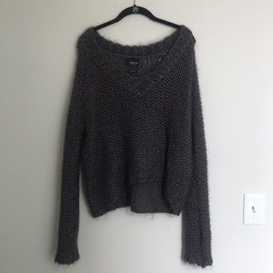 Zara knit sweater - Italian yarn